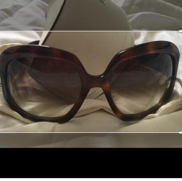 053483417 Yves Saint Laurent Accessories | Tortoise Shell Sunglasses | Poshmark
